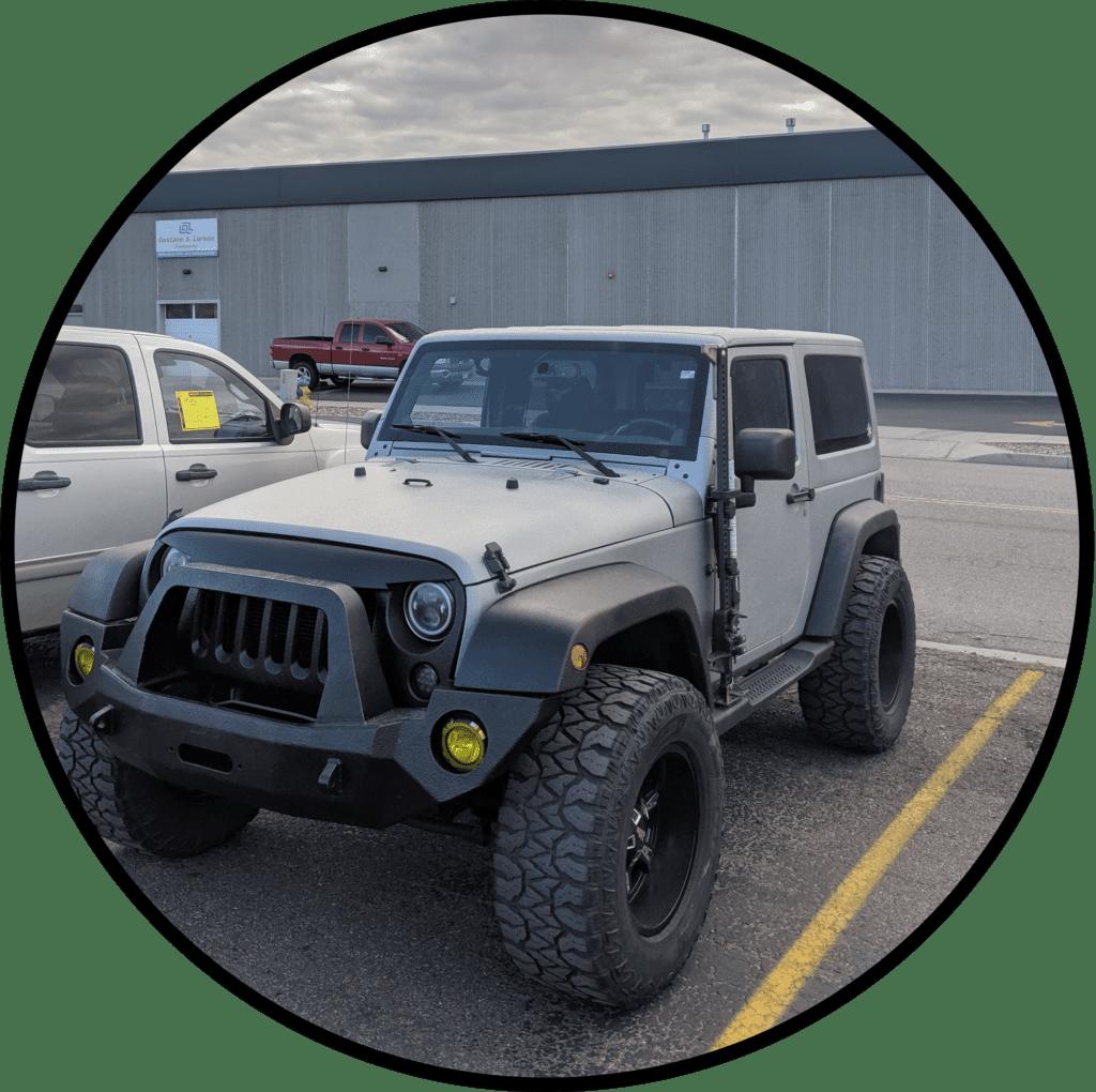 Coated Jeep